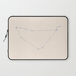 Capricorn Zodiac Constellation Neutral Blue Laptop Sleeve