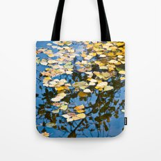 Foliage on the water Tote Bag
