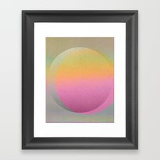 Untitled 20120815t (ANDY'S CIRCLE) Framed Art Print