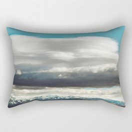 Crazy Mountain Cloud Cover Rectangular Pillow