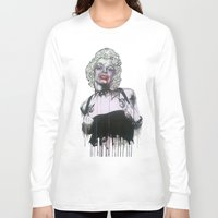 celebrity Long Sleeve T-shirts featuring Celebrity by R.A.Carrie