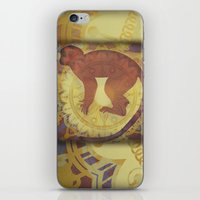 journey iPhone & iPod Skins featuring Journey by SpaceFrogDesigns