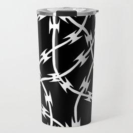 Barb Black Travel Mug
