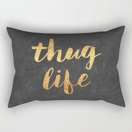 Thug Life Rectangular Pillow
