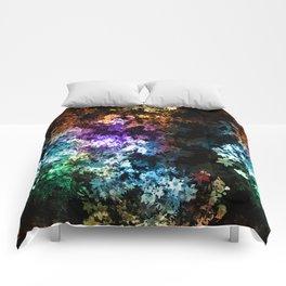 Black garden Comforters