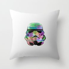 Colourful Stormtrooper Throw Pillow