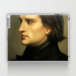 Franz Liszt (1811-1886) at 29. Painting by Charles Laurent Marechal (1801-1887). Laptop & iPad Skin