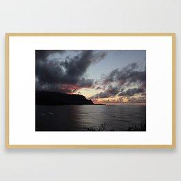 PRINCEVILLE SUNSET Framed Art Print