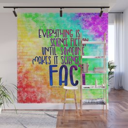 Science Fact (Warcross) Wall Mural