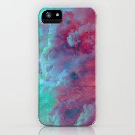Mèduse Rouge iPhone Case