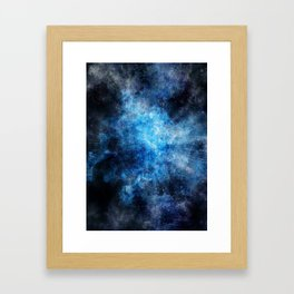 BlueCrush Framed Art Print