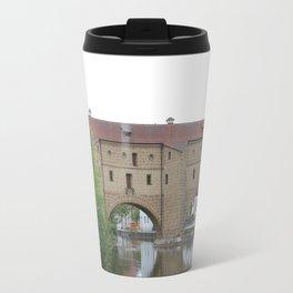"Bridge in Amberg ""Amberger Stadtbrille"" Travel Mug"