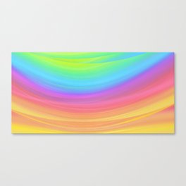 Layers of Colors Canvas Print