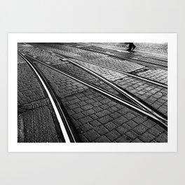 Evening Commute Art Print
