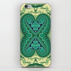 Tribal Twin Hearts iPhone Skin