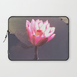 Lighted Lily pad Laptop Sleeve