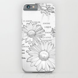 Daisy Symbol Of Love Romantic Floral Feeling iPhone Case