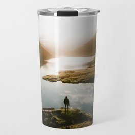 Sunrise in Switzerland Travel Mug
