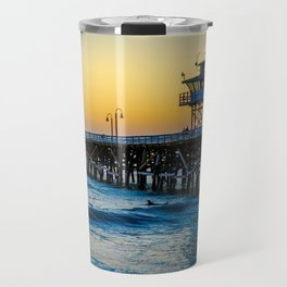 Pier at Days End Travel Mug