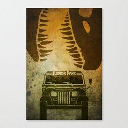 Jurassic Minimalist Canvas Print