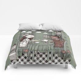 When it Rains Outside Comforters