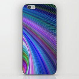 Sink in colors iPhone Skin
