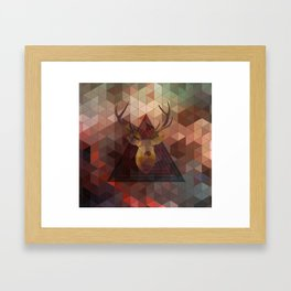 Helix & Stag 2013 Framed Art Print