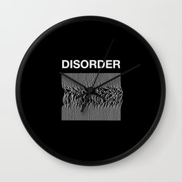 Disorder: A Joy Division/Peter Saville Tribute Wall Clock