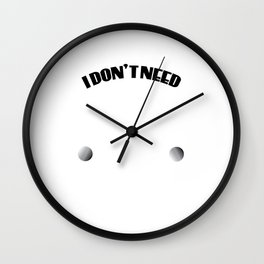 """Dazzling simple yet superb tee design saying """"I Don't Need Therapy, I Just Need to Do Astronomy"""" Wall Clock"""