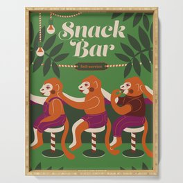 Snack Bar Serving Tray