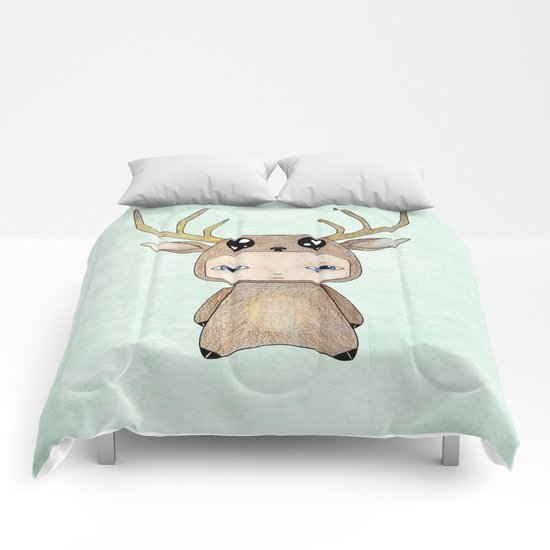 A Boy - Red Deer Comforters