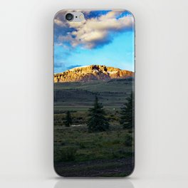 Frosted Bristol Head Peak iPhone Skin