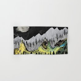 Silicone Mountains Hand & Bath Towel