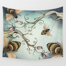 all the buzz Wall Tapestry