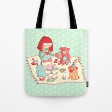 Tea party! Tote Bag