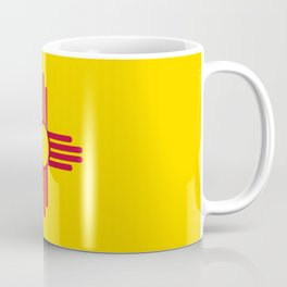 New Mexico State Flag Coffee Mug