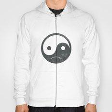 yin yang smiley ;-( Hoody