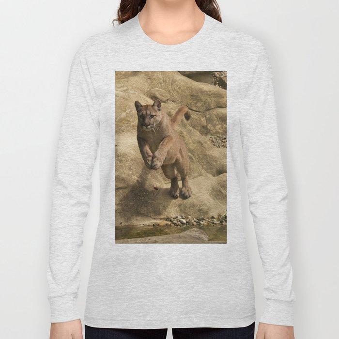 Puma Jumping Long Sleeve T-shirt