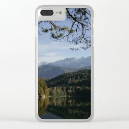 Hechtsee in the Brandenberger Alps, Tirol, color photo Clear iPhone Case