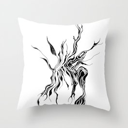 Hydra (detail) Throw Pillow