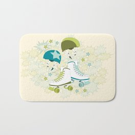 Roller Derby Rumble Bath Mat