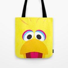 Minimal Bigbird Tote Bag