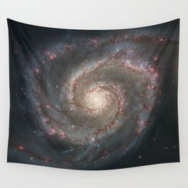 The Whirlpool Galaxy - Space Photograph Wall Tapestry