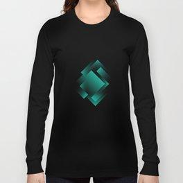 green color energy labyrinth Long Sleeve T-shirt