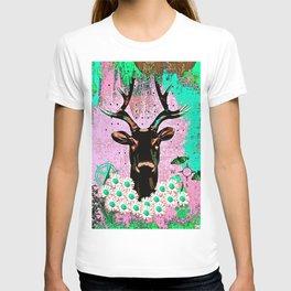 Deer Abstract T-shirt