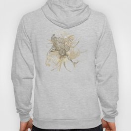 50 Shades of lace Gold Gold Hoody