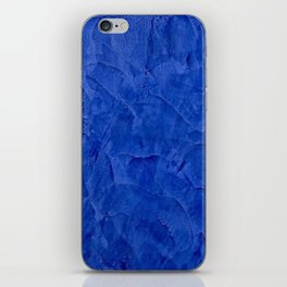 Pretty Blue Cases - Ombre - Stucco - Pillow - Classic Blue - Shower Curtains iPhone Skin