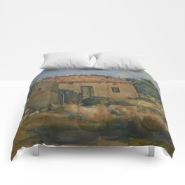 Abandoned House near Aix-en-Provence Comforters