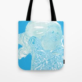 Hipster Neptune - seaspray Tote Bag