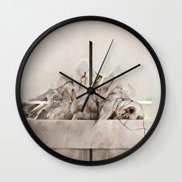 Lucid Mechanisms Wall Clock